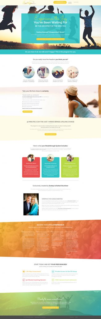 Esatey Stuchiner membership site design