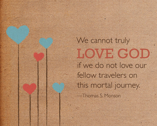 love god monson